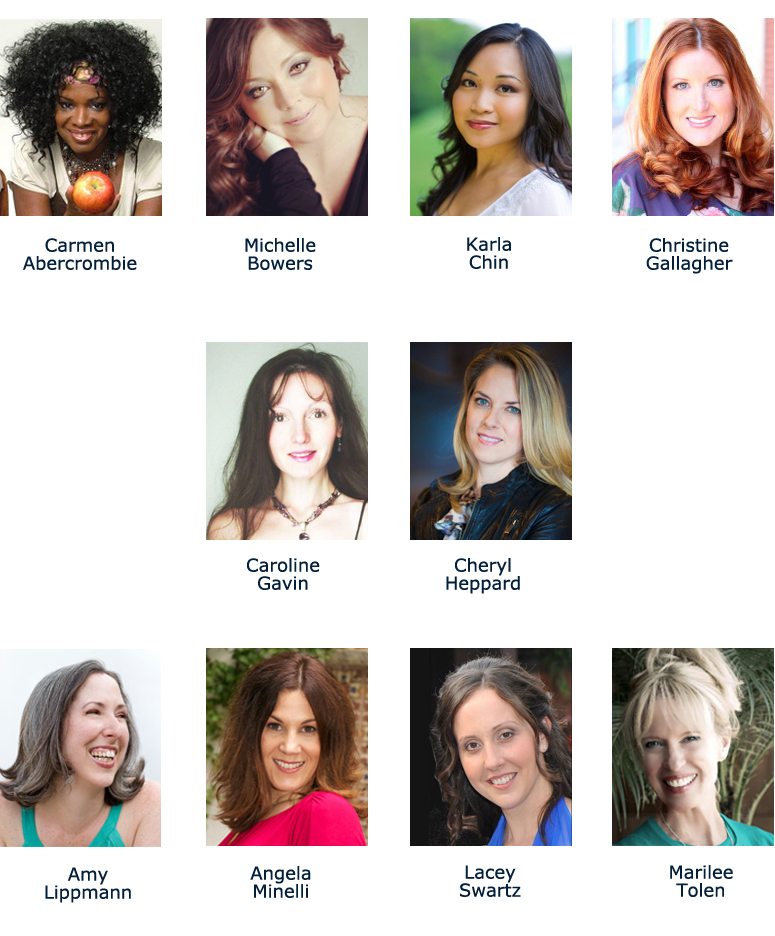 10 people who are participating in the Wellness Pro Summit